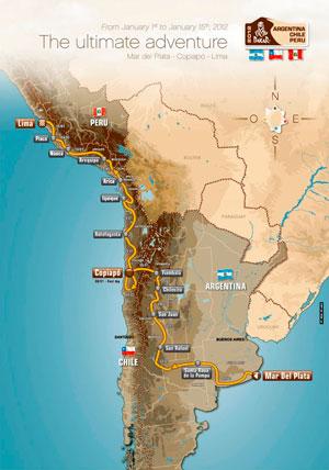 Map of Dakar